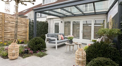 Aluminium terrassenüberdachung